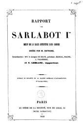 Rapport sur le Sarlabot Ir boeuf de la race Cotentine sans cornes