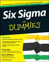 Six Sigma For Dummies: Edition 2