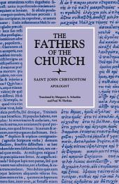 Apologist (The Fathers of the Church, Volume 73)