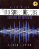 Download Motor Speech Disorders  Diagnosis   Treatment Book