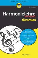 Harmonielehre kompakt f  r Dummies PDF