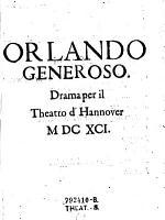 Orlando generoso PDF