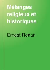 Mélanges religieux et historiques