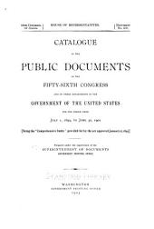 Catalogue of the public documents of the ... Congress ... and of all departments of the government of the United States for the period ...: Issue 5