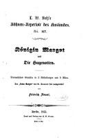 K  nigin Margot und Die Hugenotten PDF