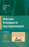 Molecular Techniques in Crop Improvement PDF