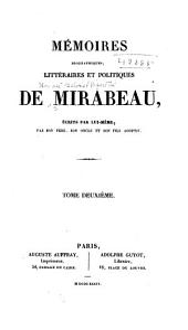 Mémoires biographiques, littéraires et politiques de Mirabeau