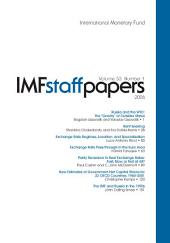IMF Staff Papers: Volume 53, Issue 1