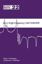 Very High Frequency (VHF) ESR/EPR