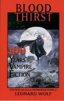 Blood Thirst PDF