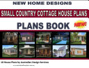 Small Country Cottage House Plans -10 House Plans Book