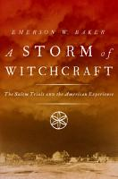 A Storm of Witchcraft PDF