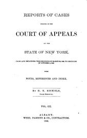 Reports of Cases Decided in the Court of Appeals of the State of New York: Volume 102