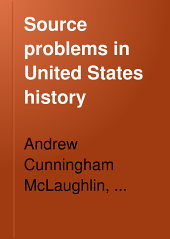 Source Problems in United States History