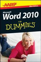 AARP Word 2010 For Dummies PDF