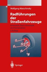 Radf  hrungen der Stra  enfahrzeuge PDF