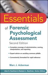 Essentials Of Forensic Psychological Assessment Book PDF