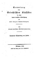 Pausanias Beschreibung von Hellas aus dem greichischen PDF