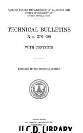 Technical Bulletin: Issues 376-400