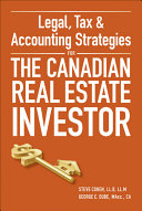 Legal  Tax and Accounting Strategies for the Canadian Real Estate Investor