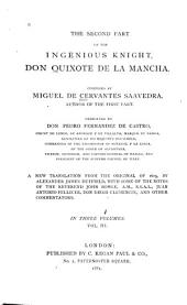 The Ingenious Knight: Don Quixote de la Mancha
