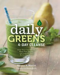 Daily Greens 4 Day Cleanse Book PDF