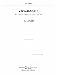 Vineyard Simple