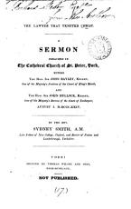The lawyer that tempted Christ  A sermon PDF