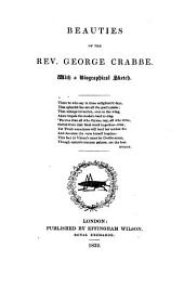 Beauties of ... George Crabbe, with a biographical sketch