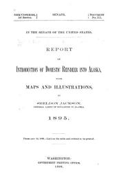 Report on Introduction of Domestic Reindeer Into Alaska: Volume 5