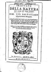 Trattato Della Natura De' Cibi Et Del Bere