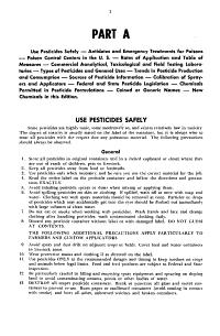 Pesticide Handbook Entoma