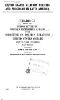 United States Security Agreements and Commitments Abroad PDF