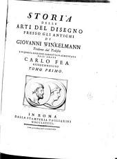 Storia delle arti del disegno presso gli antichi di Giovanni Winkelmann: Volume 1