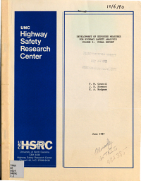 Development of Exposure Measures for Highway Safety Analysis  Final report