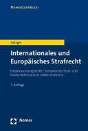 Internationales Und Europaisches Strafrecht PDF