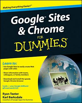 Google Sites and Chrome For Dummies PDF