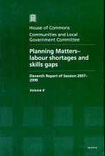 Planning Matters - Labour Shortages and Skills Gaps