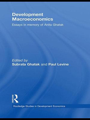 Development Macroeconomics PDF