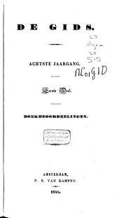 De gids: nieuwe vaderlandsche letteroefeningen, Volume 8,Deel 1;Volume 15