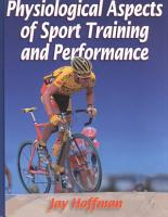 Physiological Aspects of Sport Training and Performance PDF