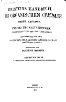 Beilsteins Handbuch der organischen Chemie PDF