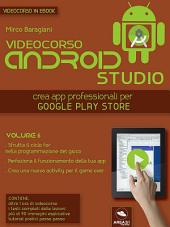 Android Studio Videocorso. Volume 6