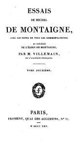 Les Essais: Volume2