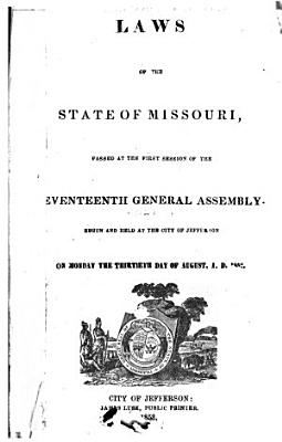 Laws of Missouri Passed at the General Assembly PDF