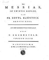 De Messias, in twintig zangen,..., eerste deel