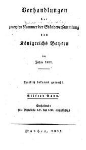 Verhandlungen: Protokolle, Volumes 55-61
