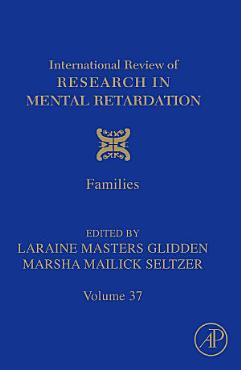 International Review of Research in Mental Retardation PDF