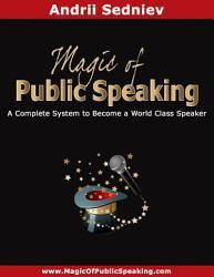 Magic Of Public Speaking Book PDF