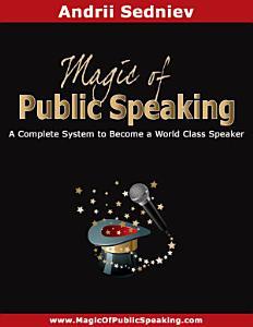 Magic of Public Speaking Book